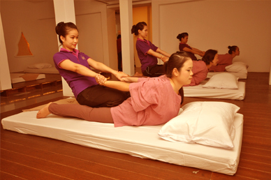 Thai massage center in kolkata
